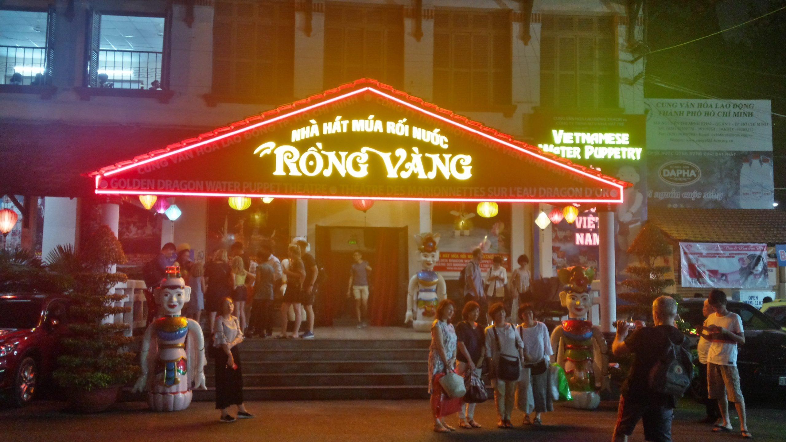 Chaos, Scooter und eine Waterpuppetshow – Ho Chi Ming City