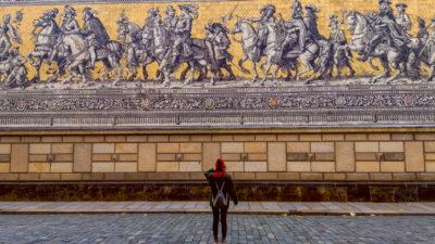 Dresdner Stadtrundgang in Bildern