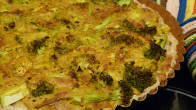 Brokkoli Quiche vegan